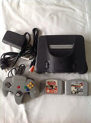 AU270 • Buy N64 Console Nintendo 2 Games Tested Working
