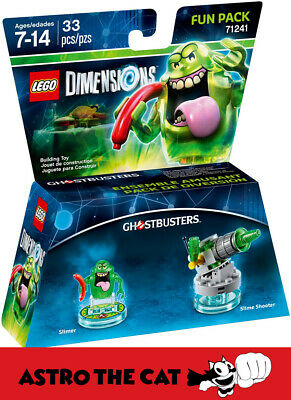 AU75 • Buy LEGO Dimensions 71241 Slimer Fun Pack - Brand New Ghost Busters