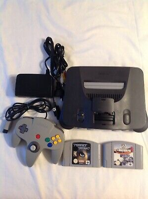 AU250 • Buy N 64 Console 2 Games Tested Working