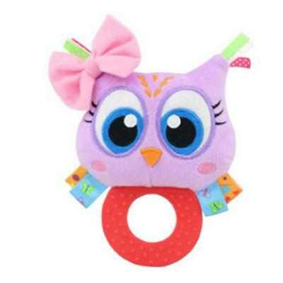 Animal Baby Infant Soft Hand Wrist Band Foot Socks Rattles Educational Toy ONE • 3.43£