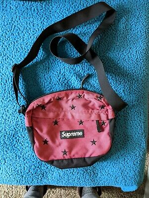 $ CDN377.97 • Buy Supreme Stars Shoulder Bag Red FW13