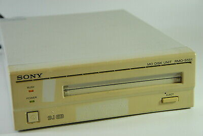 Sony MO Disk Unit SMO Magneto Optical Drive External 9.1Gb SCSI RMO-S561 • 233.67£