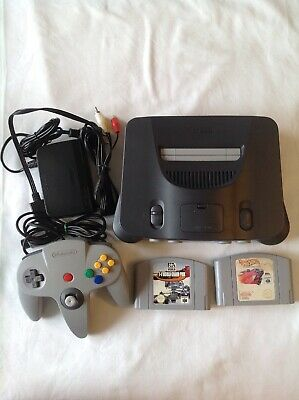 AU180 • Buy N64 Console 2 Games Tested Working