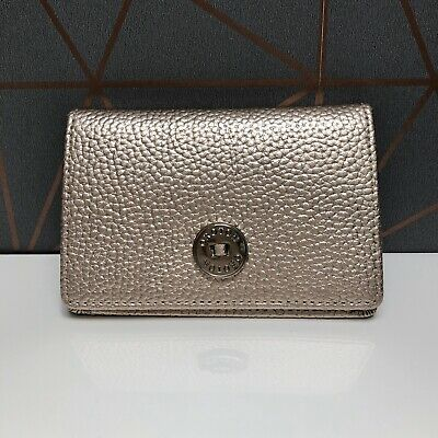 AU45 • Buy BNWT - OROTON - Business Card Holder Wallet - Melanie Pebble - Pale Rose Gold