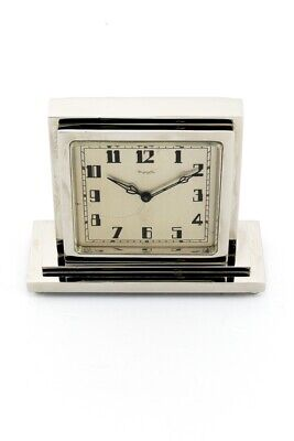£2779.81 • Buy Omega Table Clock With 8 Day  Partner Clock ( Double Duo Face ) Art Deco 30's