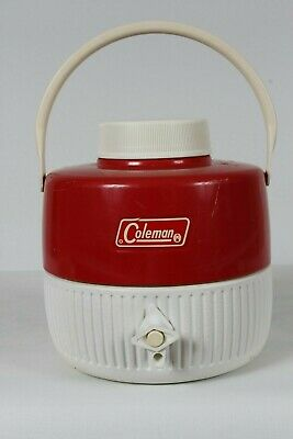$19 • Buy Coleman Vintage Red One Gallon Water Jug 1972