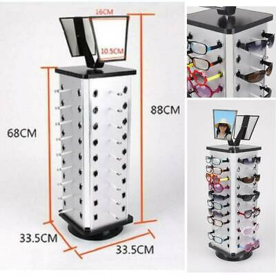 AU62.70 • Buy Rotating Sunglasses Holder Rack Glasses Display Stand, Holds 44 Pairs Glasses