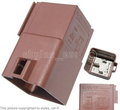 £11.99 • Buy Peugeot & Citroen Engine Cooling Fan 4-Pin Brown Relay 12V-50A Omron 250030