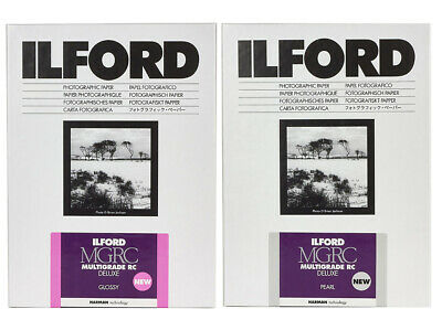 Ilford Multigrade V RC Deluxe Paper - Choice Of Sizes - GLOSS Or PEARL • 24.95£