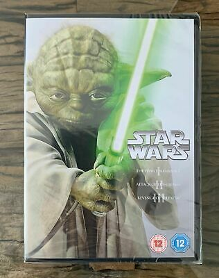£9.49 • Buy Star Wars - Prequel Trilogy Episode 1-3  (3DVD Box Set) New And Sealed
