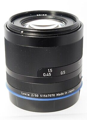 $ CDN765 • Buy ZEISS Planar T Loxia 50mm F/2 Lens For Sony A7 A7R A6000 A6300 A6400 A7s A9