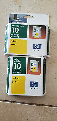 $12.50 • Buy Hp Yellow 10 Ink Cartridge Ink C4842a Hp 2000C 2500C Color Printer New Expired