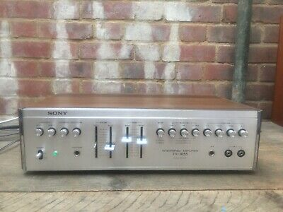 Vintage Sony TA-1055 Stereo Integrated Amplifier Solid State Phono Tape CD(Aux) • 125£
