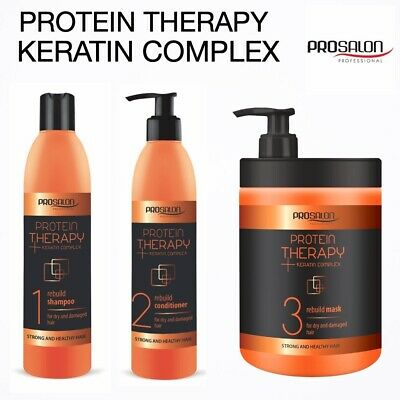 £9.99 • Buy Protein Hair Therapy-keratin Complex-shampoo-conditioner-mask-rebuild Treatment