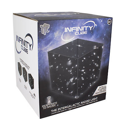 Paladone Infinity Cube Sound Reactive Mood Light, Multi-Colour • 9.99£