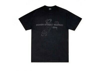AU125.84 • Buy Stussy X Dover Street Market Special Flower Tee (small) 15th Anniversary RARE