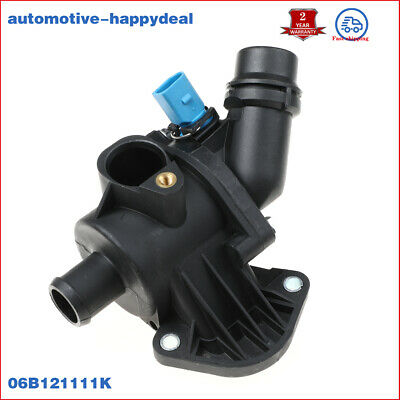 Thermostat With Housing + Sensor For AUDI A4 (B6, B7) 1.8T, 1.8T Quattro, 2.0 • 45.99£