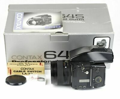 $ CDN6102.12 • Buy EX In Box Contax 645 Kit W/ Zeiss Planar T* 80mm F/2