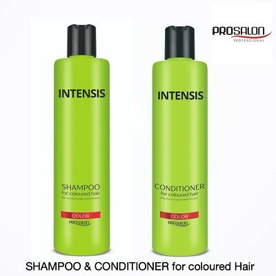 £8.99 • Buy Hair Shampoo&Conditioner For Coloured Hair - PROSALON PROFESSIONAL-Silk Protein