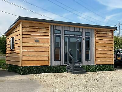 Log Cabin Garden House Mobile Office Sales Suite Annexe Holiday Rental • 24,995£