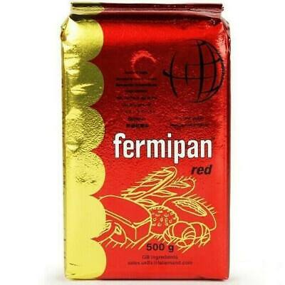500g Fermipan Red Instant Dried Yeast For Bread Bakers Bakery For Bread Maker • 6.49£