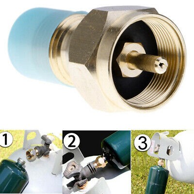 $11.01 • Buy Propane Refill Adapter Lp Gas Cylinder Tank Coupler Heater Camping US Stock