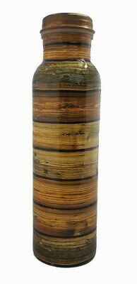 AU29 • Buy Copper Bottle Pure Wooden-Touch Printed, 750ML, Water Bottle,Yoga, Aayurveda