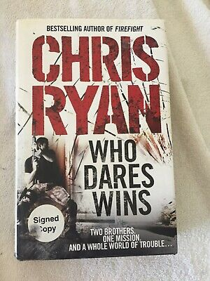 SIGNED FIRST EDITION 1ST PRINTING Who Dares Wins - Chris Ryan  H/B VGC • 14.95£