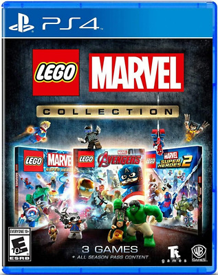 AU32.06 • Buy Lego Marvel Collection PS4 (Sony PlayStation 4, 2019) Brand New - Region Free