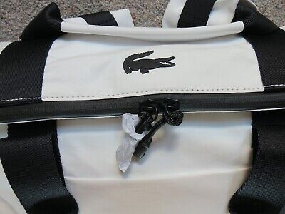 LACOSTE Roll Backpack White Peacoat • 40£