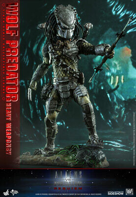 $ CDN599.99 • Buy AVPR: Requiem Wolf Predator Heavy Weaponry 1:6 Hot Toys MMS443 903149