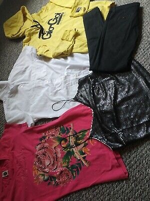 Ed Hardy Gio Goi Bershka New Look F&F Hoodie Trousers Top 5 Item Bundle Size 6-8 • 17.99£