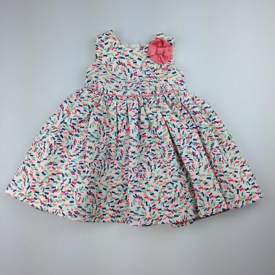 AU13.95 • Buy Girls Size 00, John Lewis, Lined Summer / Party Dress, GUC