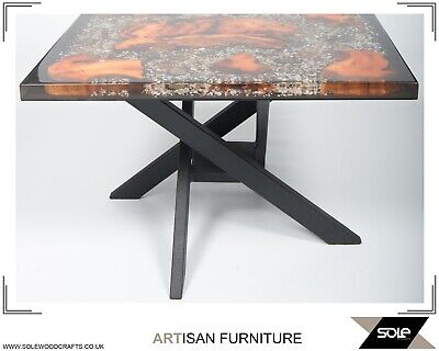 Epoxy Coffee Table, Underwater Effect, Unique Table, Coffe Table, Epoxy Resin  • 850£