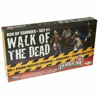 AU29.95 • Buy Zombicide Walk Of The Dead Box Of Zombies Set 1 Pack Board Game