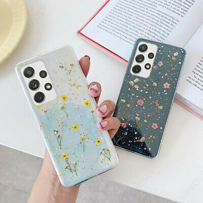 $ CDN6.50 • Buy Real Dried Flower Soft Clear Case Cover For Samsung S20 Plus Note 10 S10 S9 S8 +