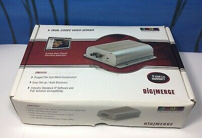 $150 • Buy Digimerge Dns1010 Dual Codec Video Server New