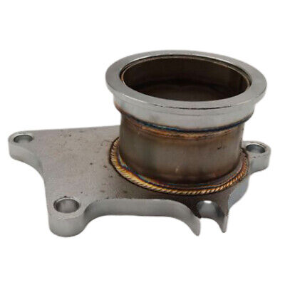 $ CDN57.59 • Buy T3 T4 5 Bolt Turbo Downpipe Flange To 2.5  Stainless Steel V-band Conversion