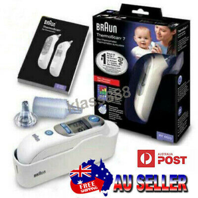 AU149 • Buy Braun Baby Adult Temperature Check Thermoscan 7 IRT6520 Ear Thermometer AU STOCK
