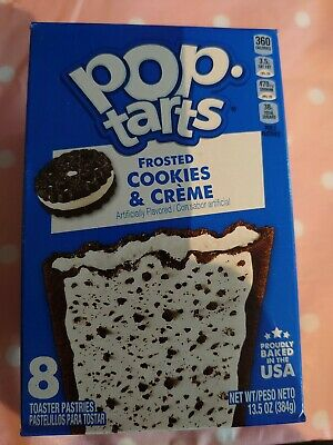 Kellogg's Pop Tarts Frosted Cookies & Creme American Candy USA Imported • 4.99£