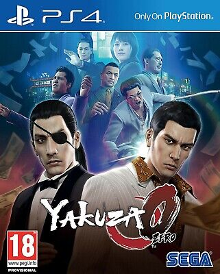 Yakuza 0 PS4 PlayStation 4 Video Game Mint Condition UK Release • 24.99£