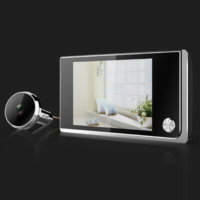 3.5 LCD Smart 120° Peephole Viewer Door Eye Night-Vision Camera DoorBell • 22.93£