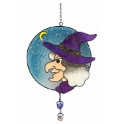 Witches Of Pendle *witches Face  Light/ Sun Catcher 23 Cms Occult/ Witch • 14.99£