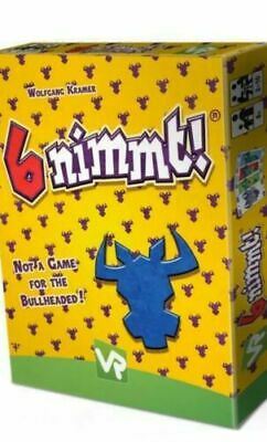 AU18 • Buy 6 Nimmt!  - BRAND NEW Card Game