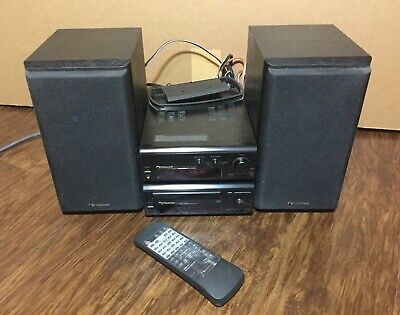 $300 • Buy NAKAMICHI CMS-5 Compact Music System RE-5 Receiver CD-5 Cd Player, SP-5 Speakers