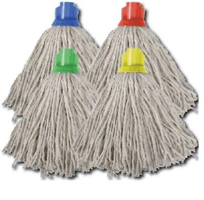 £4.19 • Buy Heavy Duty Socket Mop Head Absorbent Cotton Floor Cleaning Domestic Commercial ✔