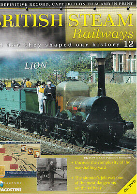 British Steam Railways - DVD + Magazine - Lion - No 12 • 3.49£