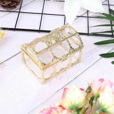 $9.99 • Buy Jewelry Box Ring Earring Necklace Case Gift Wedding Decor Packaging Bead Storage