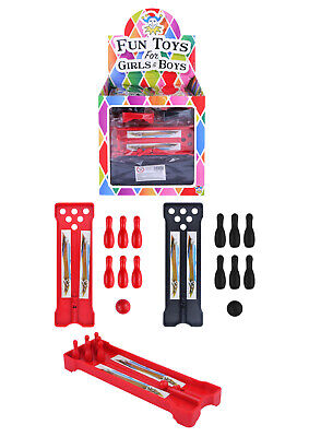 Mini Bowling Alley Toy Pin Game Kids Party Pinata Gift Loot Bag Filler Favour • 1.69£