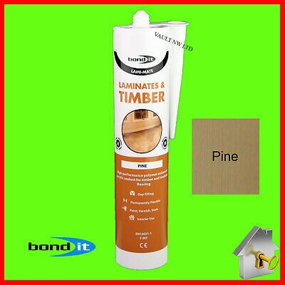 £6.49 • Buy Laminate Floor Silicone Pine Colour Bond It Gap Filler For Timber And Laminate